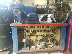 Ammco Brake Lathe Model 4000 With Cart And Adapters Turns Drums And Rotors