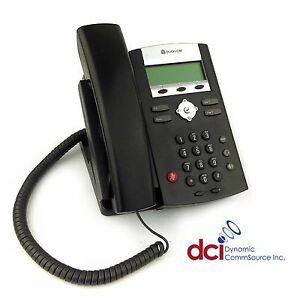 Refurbished Polycom Soundpoint Ip 335 Phone W power free Shipping