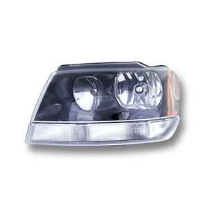 Fits 2002 2003 Jeep Grand Cherokee Laredo Sport Driver Left Headlight Assembly