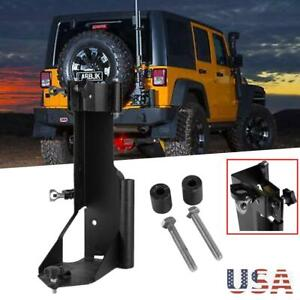 Highlift Jack Mount Offroad Trail Rear Door Bracket Carrier For Jeep Wrangler Jk