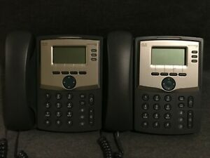 Lot Of 2 Cisco Spa303 3 line Ip Office Business Phones