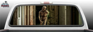 Zombie Reaching Perf Perforated Rear Window Graphic Decal Car Suv Truck Vehicle