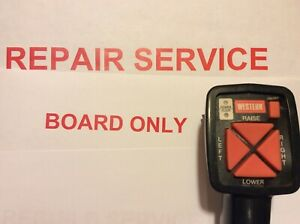 Repair Service For Western Board 6 Pin Hand Held Plow Controller Old Style