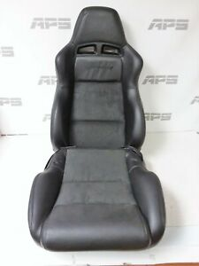 2003 2008 Dodge Viper Lh Driver Seat Cusions Black Leather And Suede