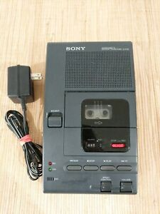 Sony Dictator Transcriber M 2020 Microcassette Voice Recorder Tape Player