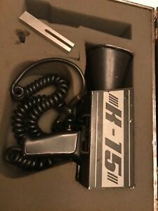 Vintage Mph K 15 Police Radar Gun K band With Case And Fork Tested Free Ship