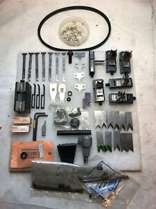 Lot Of Tools For Te Connectivity Tyco Amp Aduzi Cls Stripping Crimping Machine