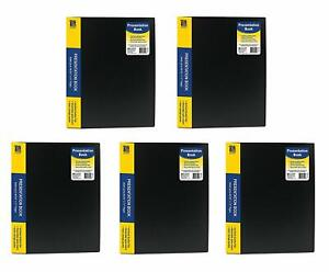C line Pocket Bound Sheet Protector Presentation Book For 8 5 X 11 inch Inserts