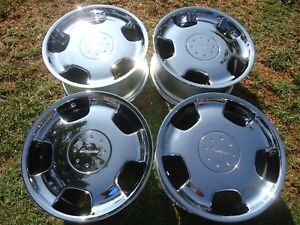 Set Of 4 Factory Mercedes D93 Lorinser Wheels Rims 19 X9 Oem Rare