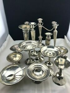 Lot Of Sterling Silver For Scrap Or Not Weighted Solid 10 875 Lbs 4933 Grams