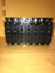 Westinghouse E 7819 1 Pole Circuit Breaker E1015c 15amp Free Shipping Lot Of 7