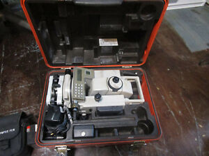 Sokkia Set 3bii Total station With New External Battery s And Cable
