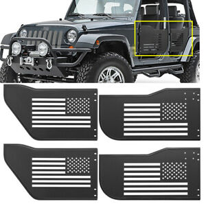 Front Rear Tubular Tube Doors Off Road For Jeep Wrangler Jk Jku Unlimited 4 Door