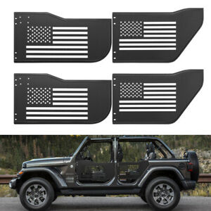 Body Armor Front Rear Safari Tubular Tube Door Off Road Kit For Jeep Wrangler Jk