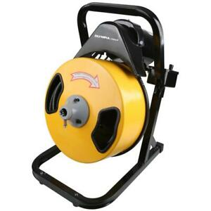 Olympia Electric Power Drain Auger Durable Steel Portable