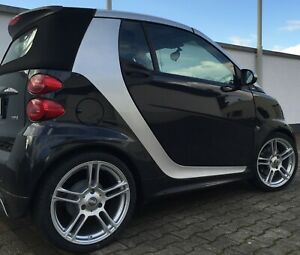 Dbv Mauritius Alloy Wheels Silver Smart Fortwo 451 Tyre Maxxis 225 35 R17