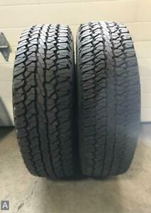 2x P245 65r17 Firestone Destination A T 12 13 32 Used Tires
