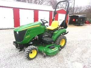 2012 John Deere 1023e 4x4 With Auto Connect 60 mower shipping 1 85 Loaded Mi