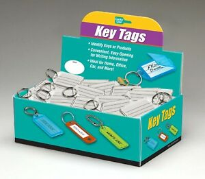 Lucky Line 20400 Key Tag With Split Key Ring Extra Strength 100 Per Box