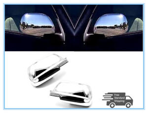 For 2008 2012 Chevrolet Malibu Chrome Side Door Mirror Cover Covers