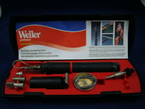 Weller P2k Self igniting Butane Cordless Soldering Iron Kit Preowned