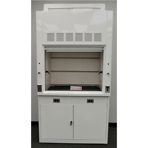 4 Laboratory Chemical Fume Hood W Top Outlet Valves In Stock