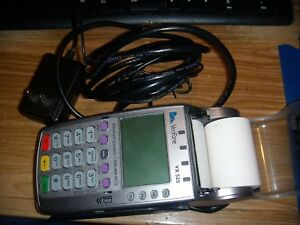 Verifone Vx 520 Emv Credit Card Machine Charger cable
