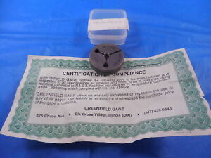 New Certified M6 X 1 0 Metric Thread Ring Gage 1 No Go Only P d 5 212 Quality
