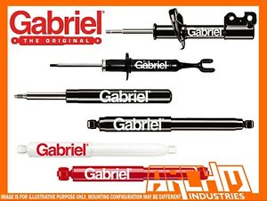 Chevrolet C Series C3500hd Straight Axle Front Gabriel Ultra Lt Shock Absorbers