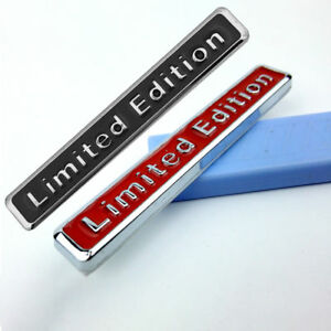 3d Metal Limited Edition Auto Car Sticker Badge Decal Motorcycle Stickers Emblem
