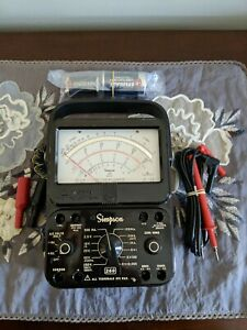 Simpson 260 Series 8 Multimeter With Custom Case