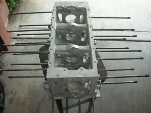 Corvair Engine Block T0910rd Degreased 65 68 Manual 110 Hp 8 Case Bolts