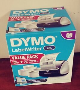 Dymo Labelwriter 4xl Value Pack Label Printer Includes 4 Rolls Of 4 x6 Labels