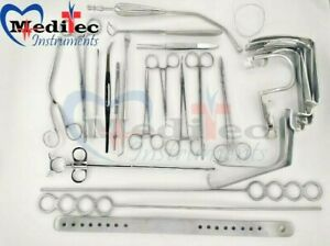 Tonsillectomy Set Of 27 Pieces Finest Surgical Instruments Sets Ent Surgical