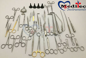 Basic Surgical Ear Ent 41 Piece Instrument Set