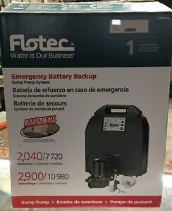 Pentair Flotec Fpdc20 Emergency Battery Backup Sump Pump