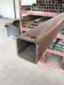 Steel Square Tubing 2 x 2 x 1 8 x 46 New prime Weldable