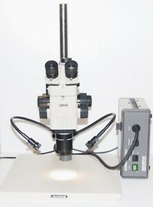 Olympus Szh10 Research Stereo Microscope Df Planapo 1x gwh10x d Eyepieces Photo