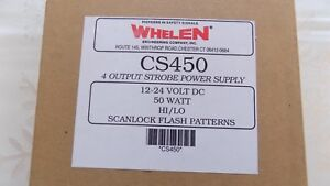 Brand New Seal Whelen Model Cs450 Outlet Strobe Power Supply