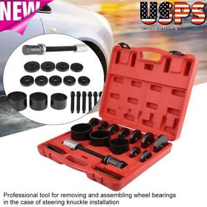 Front Wheel Drive Hub Bearing Removal Disassembly Assembly Tool Puller Kit Set