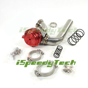 Mvr44 Tial 44mm Wastegate 14psi Dump Tube Pipe Elbow Inlet Adaptor Universal