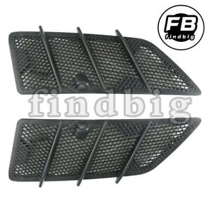 Left Right Hood Air Vent Grille Cover For Mercedes W164 Ml Gl Class 1648804305
