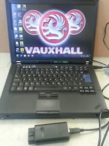 Vauxhall Saab Diagnostic Laptop Scantool Vauxcom Opcom Tech 2 Global Tis