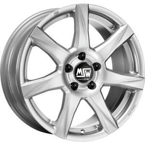 Msw 77 Alloy Rims Winter Tyres Winter Wheels 16 Silver Kumho