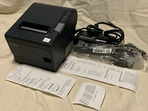 Epson Omnilink Tm t88v i M265a Vga Intelligent Printer Usb Ethernet 645