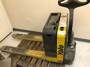 Yale Warehouse 5 000 Lb Electric Pallet Jack 24v