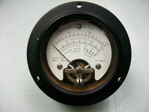 A M Instrument 2 1 2 Round 0 1 Ma Dc Multiple Scale Panel Meter