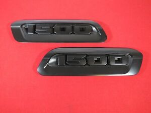 Dodge Ram 1500 Dt Right Left Hood Bezel Emblems New Oem Mopar