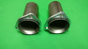 2 5 Ball Header To 2 5 409 Stainless Ball Socket 3 Bolt Collector Reducers