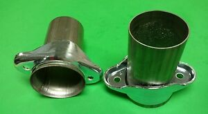 3 Header To 3 Od 409 Stainless 2 Bolt Ball Socket Header Collector Reducers